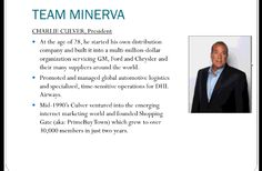 CHARLIE CULVER, PRESIDENT Minerva Worldwide -- Pin.st -- Pinterest url shortener- Pin.st - Pinterest Link Shortener   FREE to join Minerva Place pay 9 Generations - place.minervarewa... - Pre-build your team now