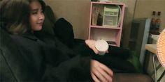 """"""" IU & Sunggu's qt friendship pt 1 (*´▽`*) """""""