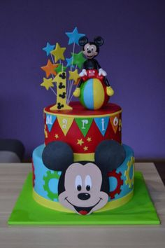 Mickey Mouse cake by Zaklina