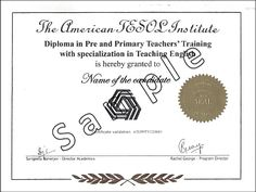Pre-primary teacher training have gained much popularity in recent years for their immense growth. A primary teacher is expected to create a general awareness in a child and educate a child on all subjects, which are very much indispensable in get a vivid understanding of the world.