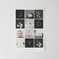 FLAT CARD This flat card is printed on premium quality 100 recycled paper. Customize the design with your favorite photo and a personalized greeting. Holiday Photo Cards, Holiday Photos, Xmas Cards, Joy Holiday, Photo Card Printing, Album Design, Photo Projects, Picture Design, Scrapbooking