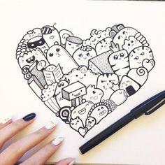 chicca craft e i little mice: Doodle-mania !
