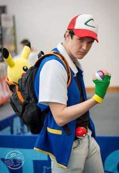 15 Best Ash Ketchum Cosplay Board Images Pokemon Cosplay
