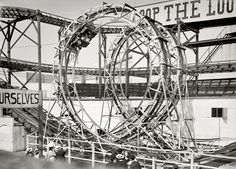 Loop The Loop - Coney Island, NY Circa 1903