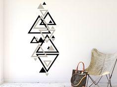 Das Wandbanner Geometrie Design hier bestellen. ✓ Große Auswahl | Top Qualität | schnelle Lieferung | kostenloser Versand (D) bei Wandtattoos.de.