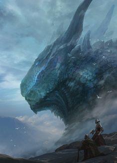Alien Creatures, Fantasy Creatures, Mythical Creatures, Fantasy Dragon, Dragon Art, Dark Fantasy Art, Fantasy Artwork, Legendary Dragons, Fantasy Beasts