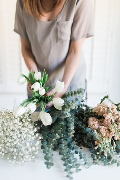 DIY Grocery Store Flower Arrangements | The Life Styled