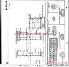 1998 Ford Ranger Fuse Box Diagram schematics Pinterest