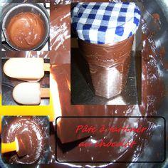 [Fred] Recette trouvée dans un magazine que je me suis empressée de tester! Pour le plus grand plaisir de mes filles! http://kazcook.com/blog/archives/123-Pate-a-tartiner-au-chocolat.html