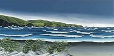 Check out the deal on Stormy Southern Coast *Canvas* by Diana Adams at New Zealand Fine Prints Online Art Store, New Zealand Landscape, New Zealand Art, Nz Art, Kiwiana, Art Gallery, Gallery Walls, Art Reproductions, Contemporary Artists