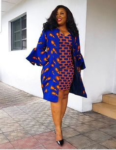 Keke African dress / Ankara dress / African print dress for women, African dresses Keke African 2 pieces dress / African short dress / Ankara dress / African print dress for women, Af African Fashion Ankara, Latest African Fashion Dresses, African Dresses For Women, African Print Dresses, African Print Fashion, African Attire, African Women, Ankara Mode, Mode Kimono