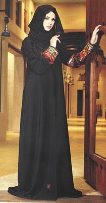 A long, flowing garment that covers the whole body from head to feet, the burka, also known as burqa or abaya, is an important part of the d. Abaya Designs, Burqa Designs, Muslim Girls, Muslim Women, Abaya Fashion, Fashion Outfits, Fashion Ideas, Fashion Inspiration, Women's Fashion