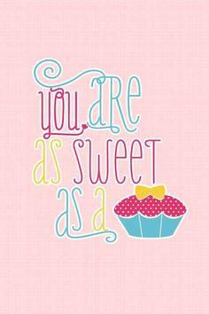 Sweet cupcake <3