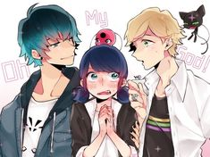 """Find and save images from the """"miraculous ladybug"""" collection by sheiming.chan (๑´ڡ`๑) (sharmyn_palacios) on We Heart It, your everyday app to get lost in what you love. Cartoon As Anime, Cartoon Tv Shows, Cartoon Art, Ladybug And Cat Noir, Meraculous Ladybug, Miraculous Ladybug Wallpaper, Miraculous Ladybug Fan Art, Lady Bug, Marinette And Adrien"""