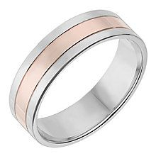 Trending Silver u ct Rose Gold mm Wedding Ring Product number