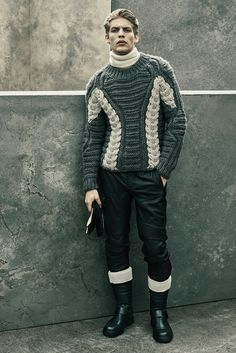 Belstaff Fall 2015 Menswear - Collection - Gallery - Style.com sweater