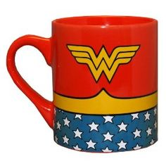 Wonder Woman Mug--saw this at TJ Maxx..this would be a great addition to the mug wall!