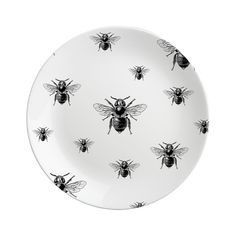 Natural History: Bee Plate