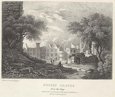 A panoramic view of the Renaissance buildings at Dudley Castle. Six Views of Dudley Castle, Drawn from Nature, and on Stone by E Bissell. Lady Jane Grey, Jane Gray, Birmingham Uk, Old Images, Keep On, West Midlands, Special People, 19th Century, Castles