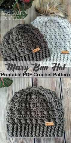 Make one of these cozy hat crochet patterns today! winter hat crochet patterns -… Make one of these cozy hat crochet patterns today! winter hat crochet patterns -…,Crochet Make one of these cozy hat. Crochet Beanie Pattern, Crochet Cap, Crochet Gifts, Diy Crochet, Hat Patterns, Pony Tail Crochet Hat, Easy Crochet Headbands, Crochet Winter Hats, Crochet Hat Patterns