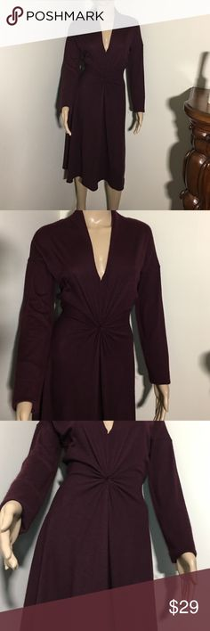 Pure Cashmere Purple Dress Size L (8-10) Picture #4 shows few little holes on the back of the dress CHAIKEN  Dresses Maxi