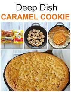 Deep Dish Caramel Cookie Recipe