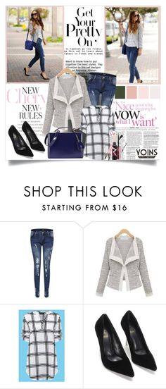 """Yoins #5"" by ana-anaaaa ❤ liked on Polyvore featuring Mark Cross, women's clothing, women, female, woman, misses, juniors and yoins"