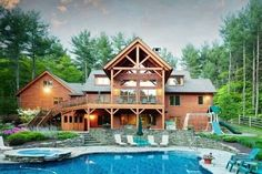log canin homes with a pool | Pools