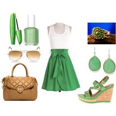 """""""Green with hints of brown"""" by erin-elise-beck on Polyvore"""