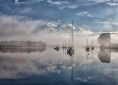 Tallships in the fog