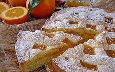 Crostata con marmellata di arance