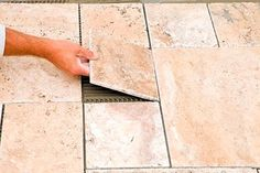 laying tile yourself