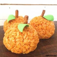 Pumpkin Crispy Rice