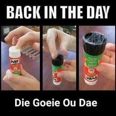 Pritt/ remember this/ childhood/ memories/ school days/ onthou Those Were The Days, The Good Old Days, Sweet Memories, Childhood Memories, School Memories, Art Of Manliness, Black History Facts, 90s Nostalgia, African History