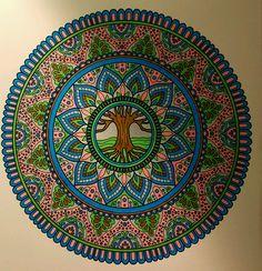 ColorIt Mandalas Volume 2 Colorist: Diane Cole #adultcoloring #coloringforadults #mandalas #mandalastocolor