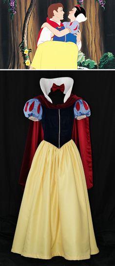 adult custom made snow white dress #disney #snowwhite #halloween