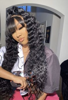 Front Hair Styles, Curly Hair Styles, Natural Hair Styles, Trendy Hairstyles, Wig Hairstyles, Asymmetrical Hairstyles, Beautiful Hairstyles, African Hairstyles, Protective Hairstyles