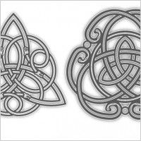 Free Filigree Designs | Celtic flourish vectors free Free vector for free download (about 2 ...