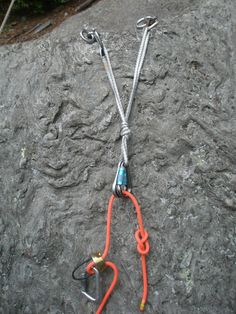 Top rope (sport) climbing anchor.  Solid, Effective, Redundant, Equalized, No Extension (with the exception of the right most anchor photo) and Angles of the anchors look good. https://petracliffs.wordpress.com/2013/08/03/top-rope-climbing-anchor-construction-and-recognition-stay-safe-out-there/