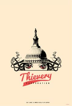 GigPosters.com - Thievery Corporation