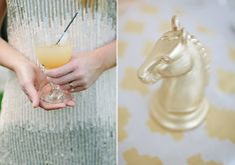 Modern Palms Springs Wedding   photo by Joielala   design by Jesi Haack  100…
