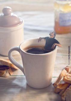 Галлюциногенный фотошоп Расслабляющий завтрак.