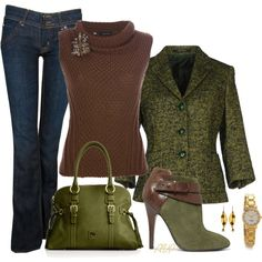 """Chunky Knit Sweater"" by amy-phelps on Polyvore"