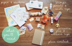 DIY: Travel Diary (with tips & tricks!)   Last days of Spring