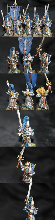 High Elf Swordmasters of Hoeth by Kilvo666