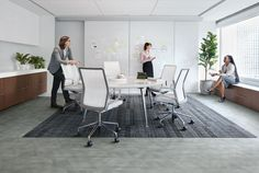 Drawn Lines colour Silver with Visual Code as a feature rug area. Available globally. Workplace Design, Corporate Design, Soft Flooring, Carpet Flooring, Office Floor, Cheap Carpet Runners, Luxury Vinyl Tile, Carpet Styles, Cool Chairs