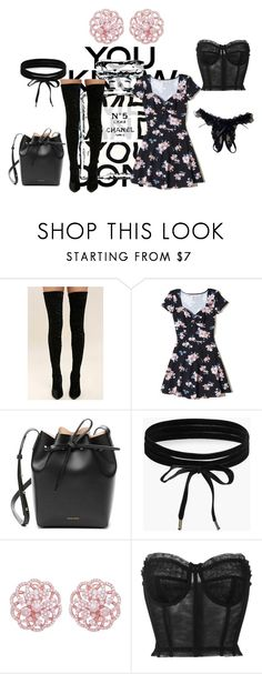 """""""Posh Girl"""" by pinksparklesurprise ❤ liked on Polyvore featuring Chanel, Cape Robbin, Hollister Co., Mansur Gavriel, Boohoo, Emilio! and Dolce&Gabbana"""