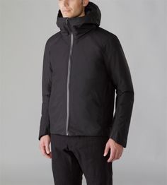 Node IS Jacket Men's Adaptable, insulated, waterproof jacket with hood constructed with a touch-friendly cotton/nylon face GORE-TEX® textile...