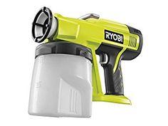 Amazon.com: Ryobi P620 ONE+ Speed Paint Sprayer, 18 V (Body Only) by Ryobi: Home & Kitchen