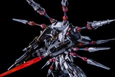 Painted Build: DA MG 1/100 Providence Gundam - Gundam Kits Collection News and Reviews Providence Gundam, Facebook Features, Custom Paint Jobs, Gundam Model, The 100, Models, News, Building, Collection
